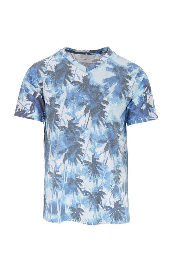 Sol Angeles Aqua Mirage V-Neck T-Shirt