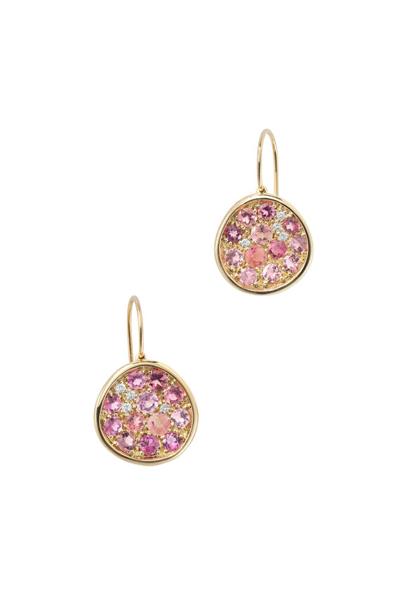 Robinson Pelham 14K Yellow Gold Pomegranate Tourmaline Earrings
