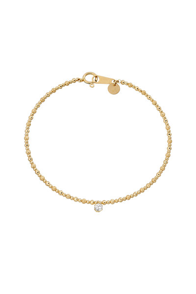 Robinson Pelham - 18K Yellow Gold Rock Diamond Bracelet