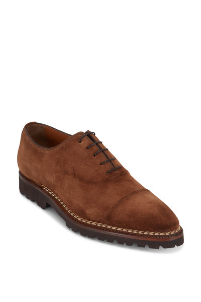 Bontoni - Vittorio Antico Brown Suede Oxford