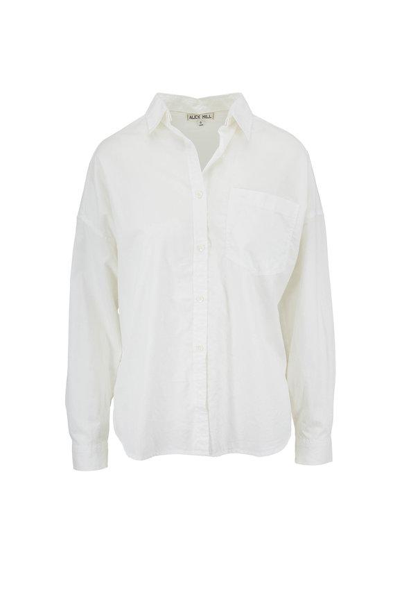 Alex Mill Oversized White Button Down Shirt