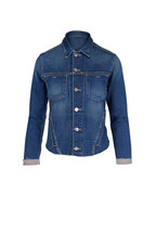 L'Agence - Janelle Meridian Denim Slim Jacket