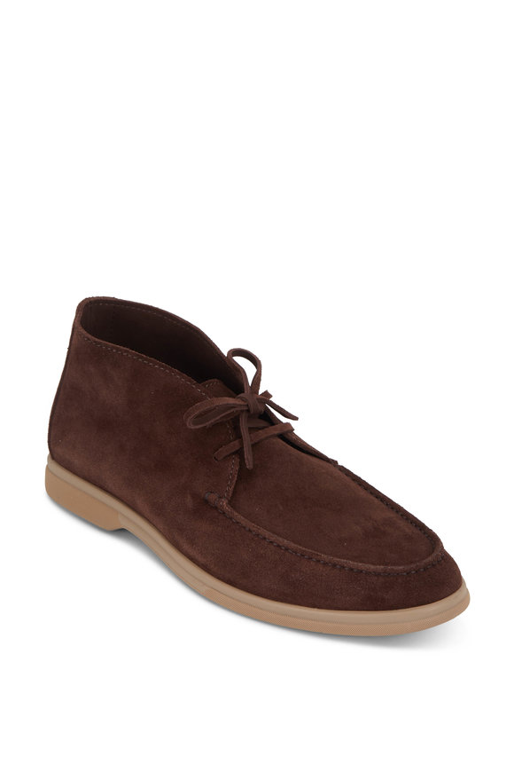 Brunello Cucinelli Earth Suede Soft Boot