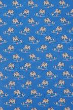 Salvatore Ferragamo - Blue Elephant Silk Necktie