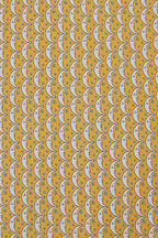Salvatore Ferragamo - Yellow Moon & Star Silk Necktie