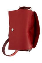 Tod's - Doppia Fuchsia & Blush Grained Leather Crossbody
