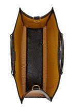 Fendi - Runaway Brown Perforated Leather Medium Tote