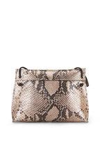B May Bags - Blush Snakeskin Print Small Crossbody
