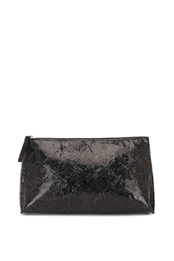 B May Bags Black Diamond Sheepskin Small Essential Pouch