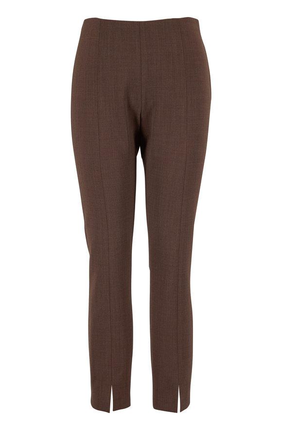 Sorroco Light Espresso Stretch Wool Pant