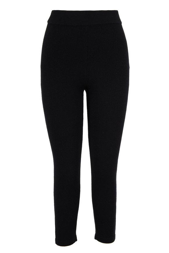 Michael Kors Collection Black Cashmere Pull-On Legging
