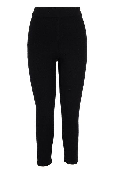 Michael Kors Collection - Black Cashmere Pull-On Legging