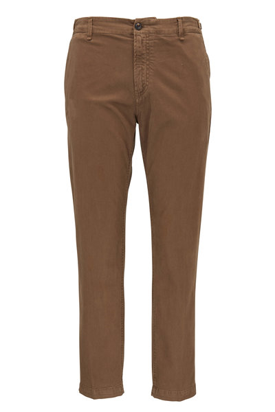 White Sands - Taupe Cotton Pant