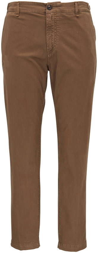 White Sands Taupe Cotton Pant