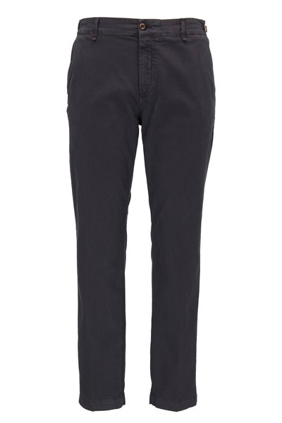 White Sands - Charcoal Gray Cotton Pant