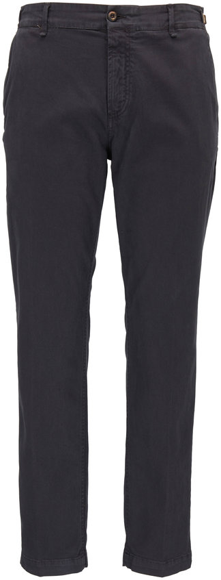 White Sands Charcoal Gray Cotton Pant
