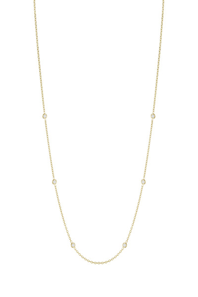 Penny Preville - Yellow Gold Spectacle Set Diamond Chain