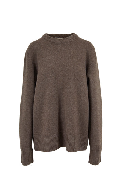 The Row - Sinilla Dark Oak Melange Sweater