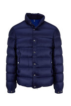 Moncler - Piriac Dark Blue Quilted Jacket