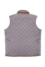 Peter Millar - Essex Smoke Gray Quilted Vest