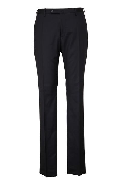 Incotex - Morgan Black Wool Trousers