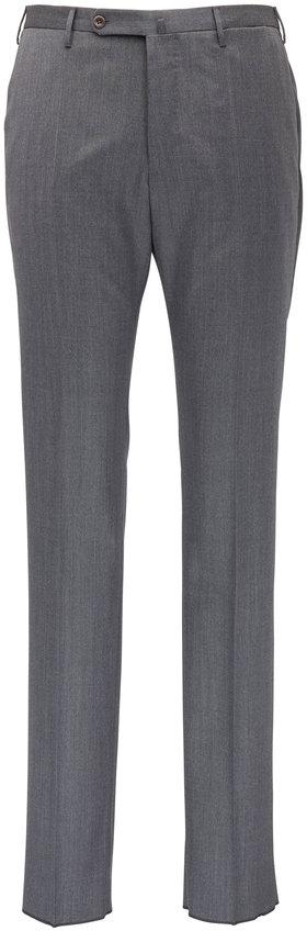 Incotex Matty Grey Stretch Wool Modern Fit Pant