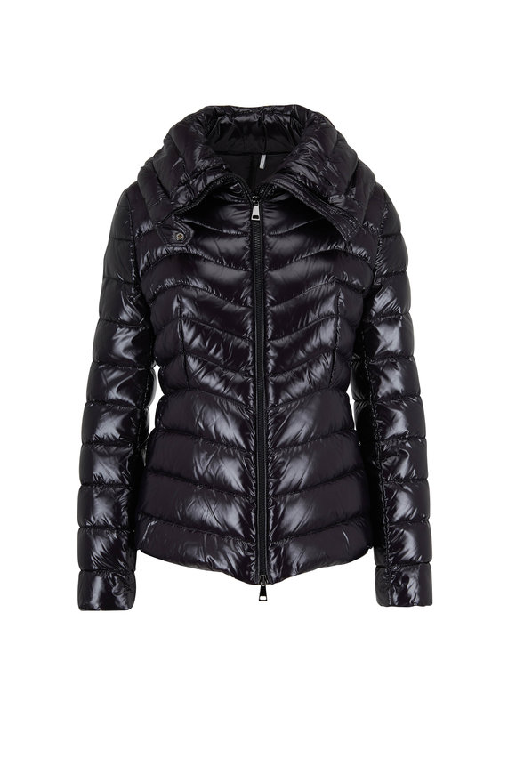 Moncler Auline Black Quilted Down Jacket
