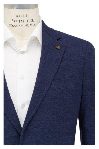 Peter Millar - Navy Blue Jersey Knit Blazer