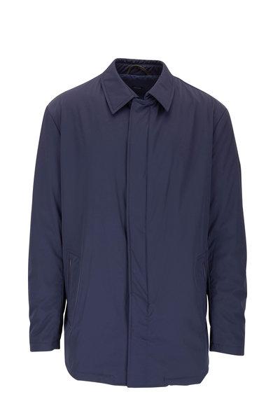 Peter Millar - Navy Nylon Trench Coat
