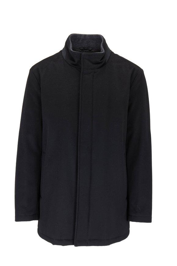 Peter Millar New Horizon Black Wool Jacket