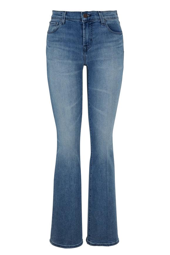 J Brand Sallie Fix Up Mid-Rise Bootcut Jean