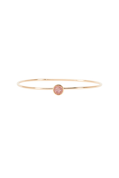 Syna - Baubles Yellow Gold Pink Sapphire Stack Bracelet