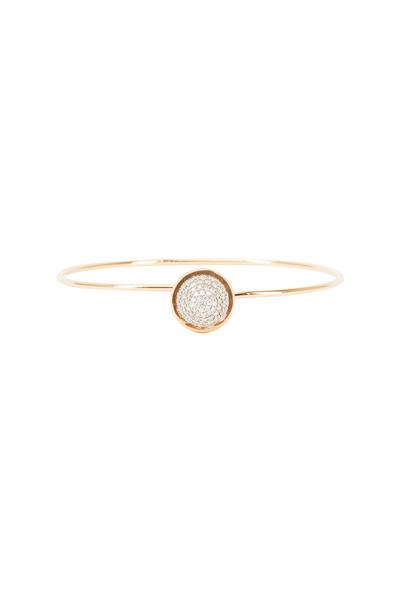 Syna - Baubles Yellow Gold White Diamond Stack Bracelet