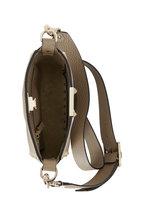 Valentino Garavani - Rockstud Warm Taupe Leather Mini Hobo Crossbody
