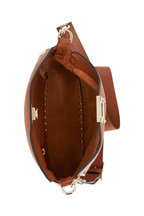 Valentino Garavani - Rockstud Selleria Leather Small Hobo Crossbody
