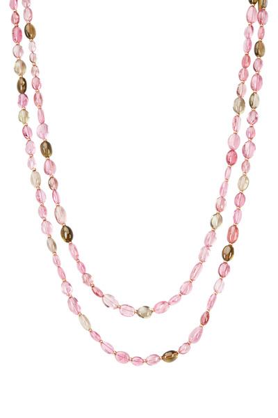 Syna - Multi Tourmaline Gemstone Necklace