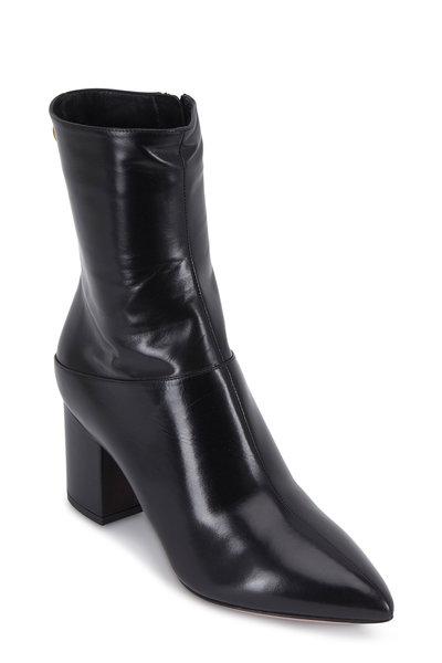 Valentino Garavani - Ring Rockstud Black Short Boot, 70mm