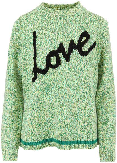 Chinti & Parker Riveria Sunshine Wool Love Sweater