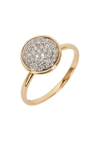 Syna - Yellow Gold Diamond Chakra Ring
