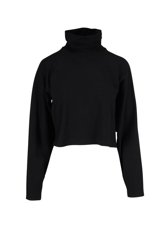Rosetta Getty Cocoon Black Turtleneck