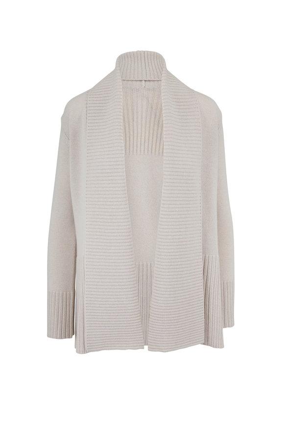 Rani Arabella Linen Cashmere Open Front Cardigan