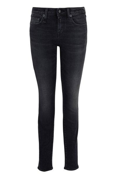 R13 - Alison Skinny Maura Black Jean