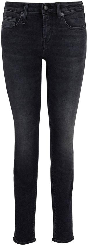 R13 Alison Skinny Maura Black Jean