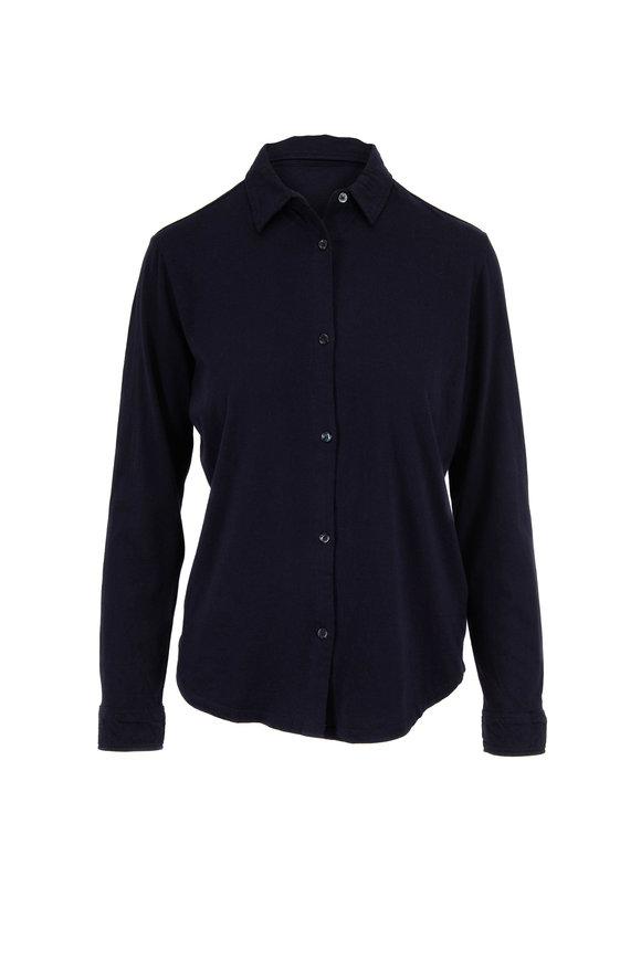Majestic Marine Silk Touch Button Down T-Shirt