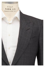 Tom Ford - Charcoal Prince Of Wales Plaid Wool Suit