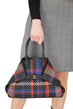 Akris - AI Mutlicolor Woven Leather Small Tote