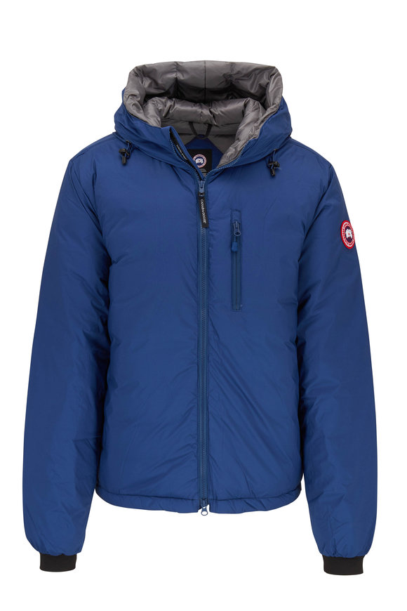 Canada Goose Lodge Northern Night Hooded Down Jacket