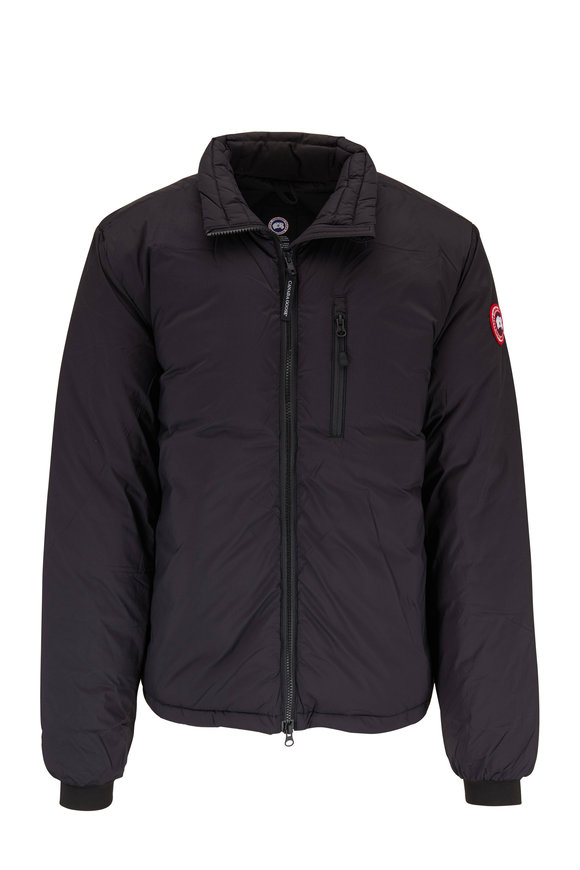 Canada Goose Lodge Black Down Jacket