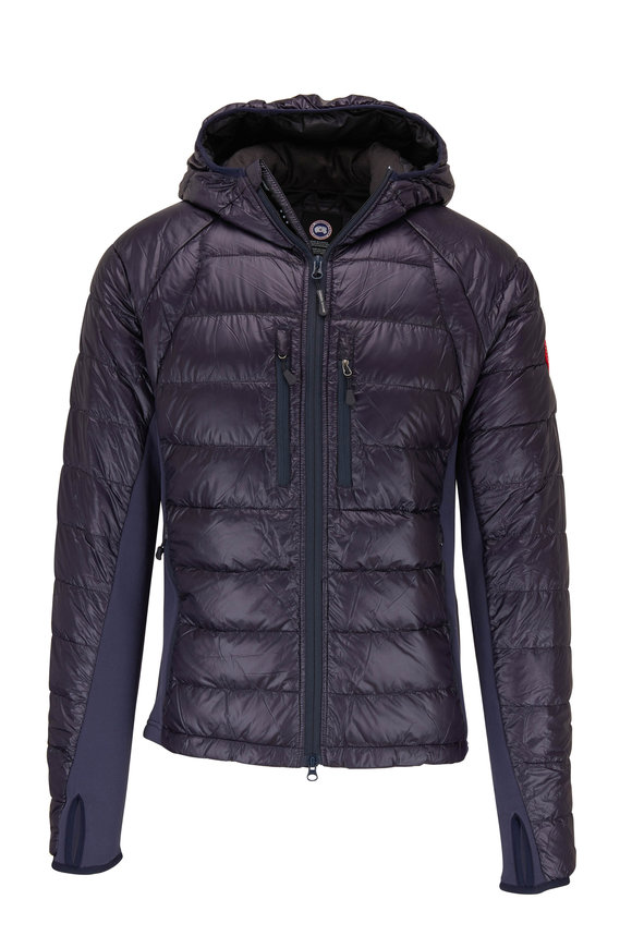 Canada Goose Navy Hybridge Light Puffer Jacket