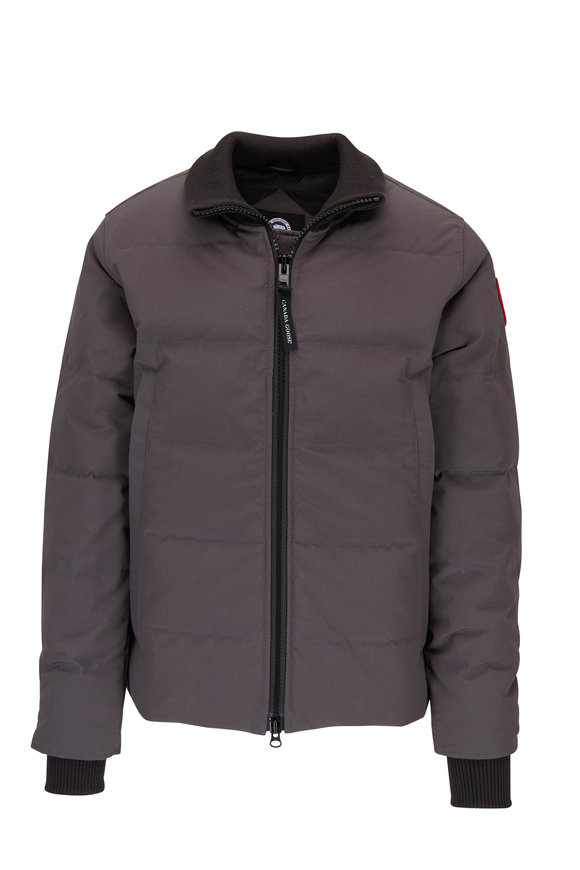 Canada Goose Woolford Graphite Quilted Down Jacket
